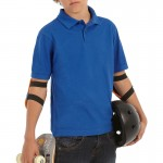 B & C Safran Kids Polo Shirt