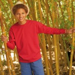 Fruit Of The Loom Kids Long Sleeve Valueweight Tee