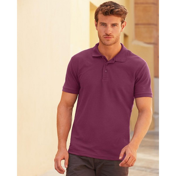 Fruit Of The Loom Poly/Cotton Pique Polo Shirt
