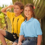 Fruit Of The Loom Kids 65/35 Polo Shirt