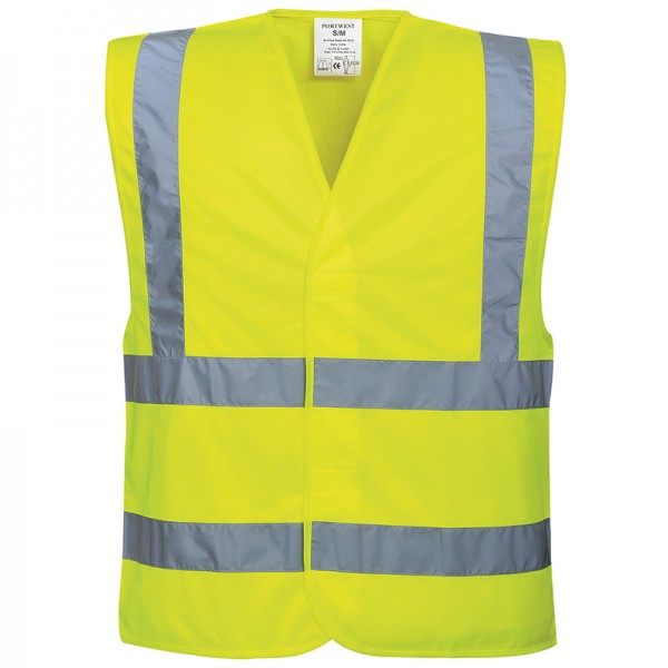 Portwest Hi-Vis Two-Band-And-Brace Vest