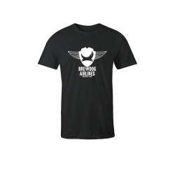 Black Brewdog 'Inaugural Flight' T-Shirt