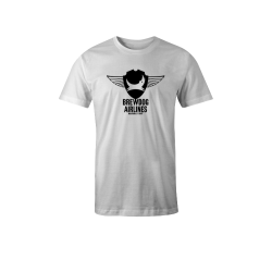 White Brewdog 'Inaugural Flight' T-Shirt