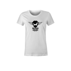 White Brewdog 'Farewell Flight' Lady-Fit T-Shirt
