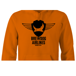 Brewdog 'Ground Crew' Hoodie (Black Design)
