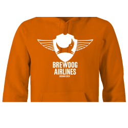 Brewdog 'Ground Crew' Hoodie (White Design)