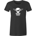Black Brewdog 'Seeking The Source' Lady-Fit T-Shirt
