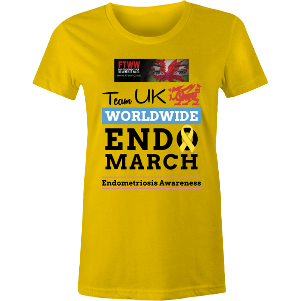 Endo March Wales Lady-Fit T-Shirt
