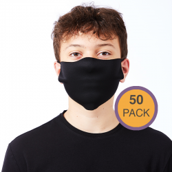 Custom Printed Face Cover - 50 Pack