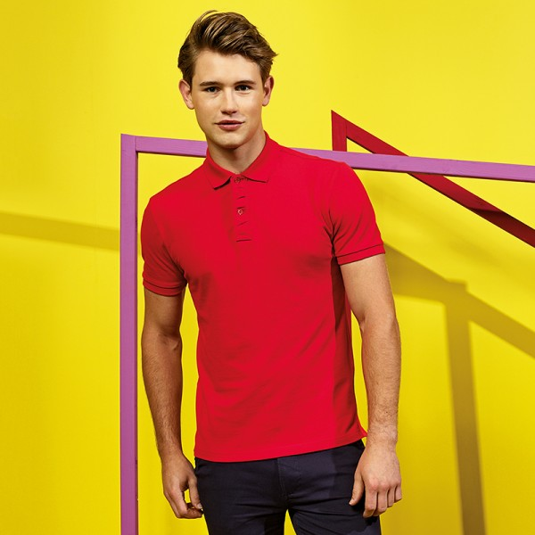 "Asquith & Fox Men's ""Infinity Stretch"" Polo"