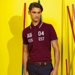 Asquith and Fox Men's Classic Fit Tipped Polo