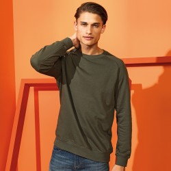 Asquith & Fox Men's Organic Crew Neck Sweatshirt