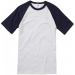 Fruit Of The Loom Short Sleeve Baseball Tee