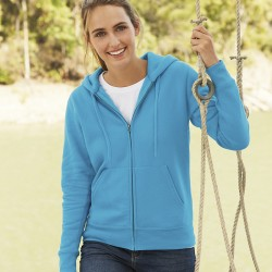 Fruit Of The Loom Premium 70/30 Lady-Fit Hooded Sweatshirt Jacket