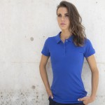 Henbury Ladies Microfine Cotton Pique Polo Shirt