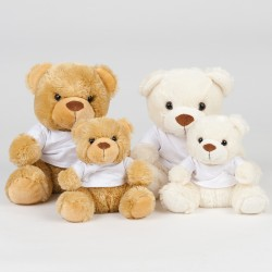 Personalised Teddies - Teddy Bears Custom Printed With Your Design
