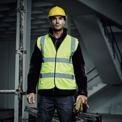 The Workwear Bundle (3 x Polo Shirt, 1 x Hoodie & 1 x Hi-Vis Vest)