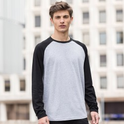 Skinnifit Long Sleeve Baseball T-Shirt