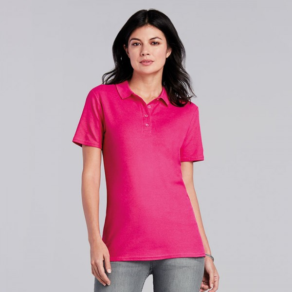 Gildan Women's Softstyle® Double Piqué Polo