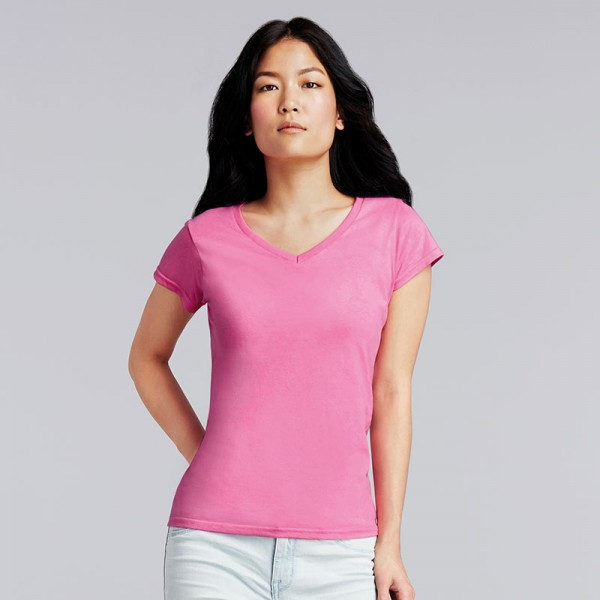 Gildan Softstyle® Women's V-Neck T-Shirt