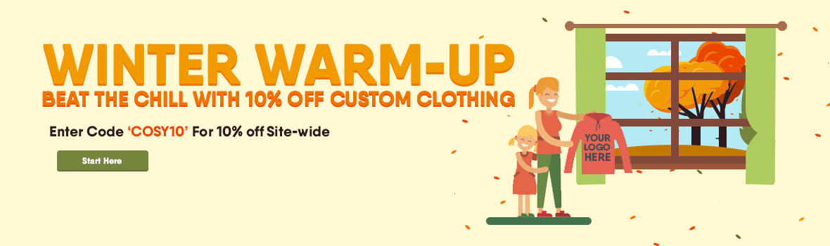 winter warm-up 10% off